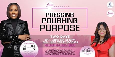 GEMS - The Pressing,Polishing and Purpose Conference  tickets
