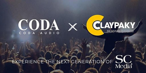 Coda Audio x Claypaky Canadian Launch