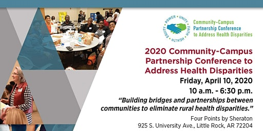 2020 Community-Campus Partnership Conference to Address Health Disparities