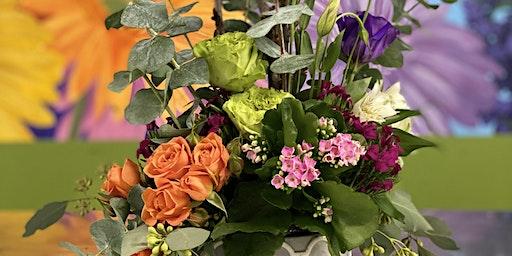 Blooming Plant & Fresh Bloom arrangement