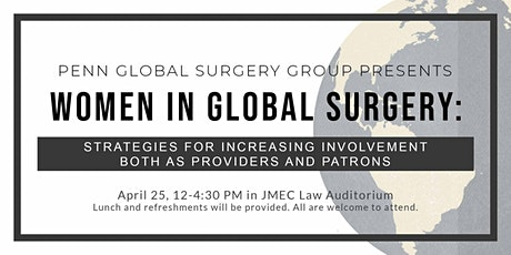 PGSG's Inaugural  Women in Global Surgery Symposium tickets