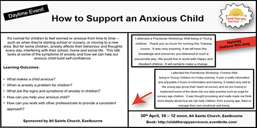 How to Support an Anxious Child - Daytime Event