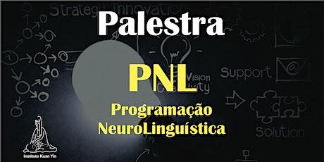 Palestra PNL ingressos