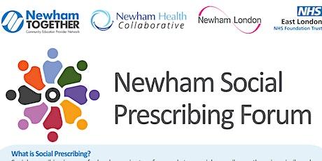 Newham Social Prescribing Forum tickets