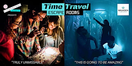 Clever Cogs Time Travel Escape Rooms - Adult or Family Escape Room Experience tickets