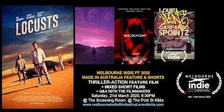 Melbourne Indie FF 2020 – Australian Thriller Action Saturday Night tickets