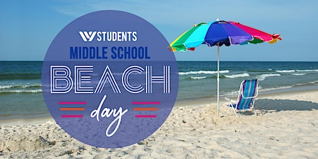 WStudents MS Six7 Beach Day tickets