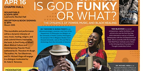 Music Therapy Roundtable. Is God Funky or What? tickets