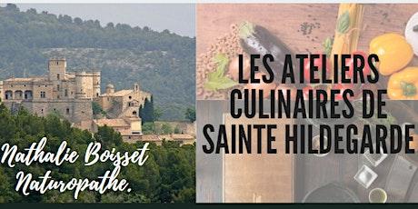 Atelier Culinaire de Sainte Hildegarde billets
