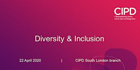 Diversity & Inclusion - Webinar tickets