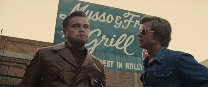 POSTPONED // Once Upon a Time in Hollywood  (2019) 35mm Presentation image