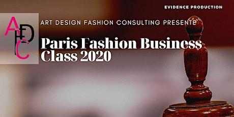 Paris Fashion Business Class 2020 tickets