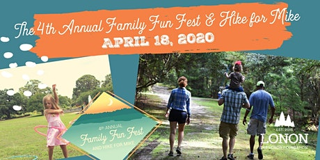 The 4th Annual Family Fun Fest & Hike for Mike tickets