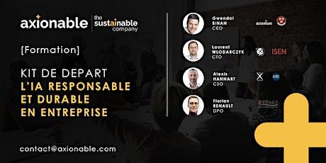 [Formation] Kit de départ - IA responsable et durable en entreprise billets