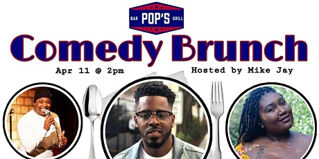 Pop's Comedy Brunch starring Mark Caesar tickets