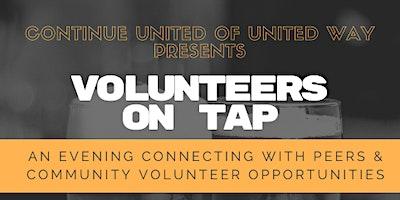 POSTPONED – Continue United of United Way –  Volunteers on Tap
