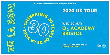 De La Soul - Celebrating 30 Years of De La Soul (O2 Academy, Bristol) tickets