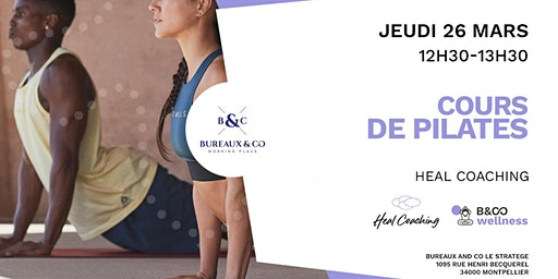 Cours de Pilates- Bureau & Co