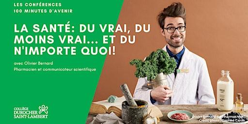 100 minutes avec Olivier Bernard (le Pharmachien)