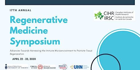17th Annual Regenerative Medicine Symposium tickets