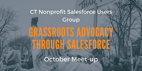 Grassroots Advocacy through Salesforce (In-person or Online) tickets