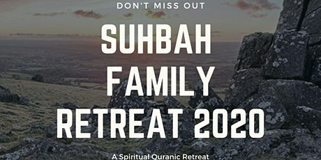 Suhba Family Summer Retreat 2020 tickets