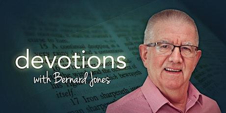 Devotions with Bernard Jones tickets