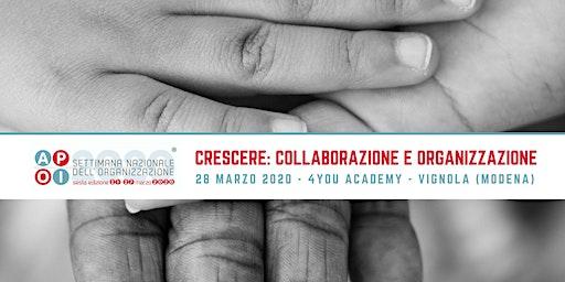 Crescere: collaborazione e organizzazione per ragazzi!