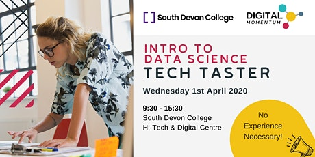 Introduction to Data Science & Machine Learning - Tech Taster tickets