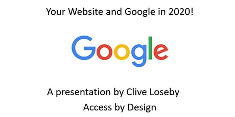 Your Website and Google in 2020! (Petersfield) tickets