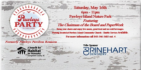Pawleys Party in the Park tickets