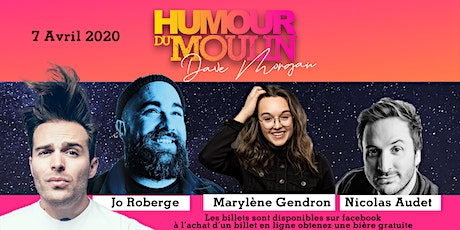 Humour du Moulin - 7 Avril tickets