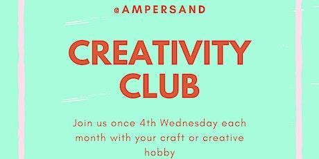 Creativity Club @ Ampersand tickets