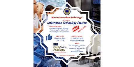 Information Technology Session tickets