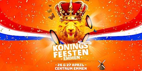 Koningsfeesten Emmen 2021 tickets