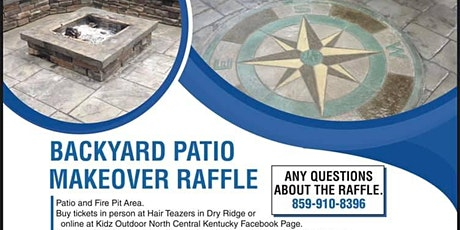 Backyard Patio Raffle tickets
