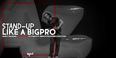 Workshop di Comicità, Improvvisazione e Scrittura con Marco Bazzoni biglietti