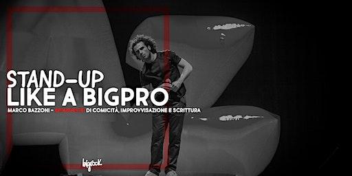 Workshop di Comicità, Improvvisazione e Scrittura con Marco Bazzoni