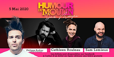 Humour du Moulin - 5 mai billets