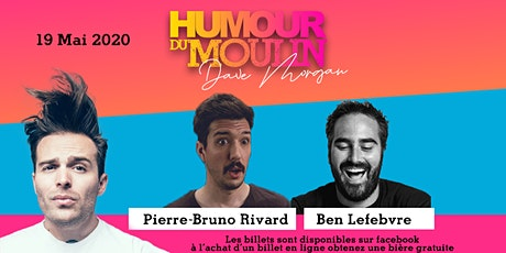 Humour du Moulin - 19 mai billets