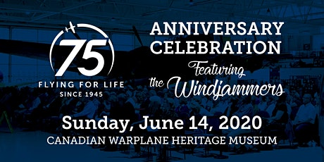75th Anniversary Celebration featuring the Windjammers tickets