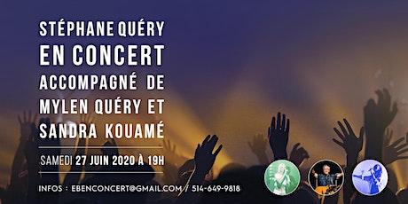 Stéphane Quéry en Concert accompagné de Mylen Quéry et Sandra Kouamé billets