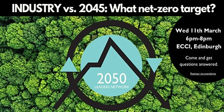 INDUSTRY vs. 2045: What net-zero target? tickets