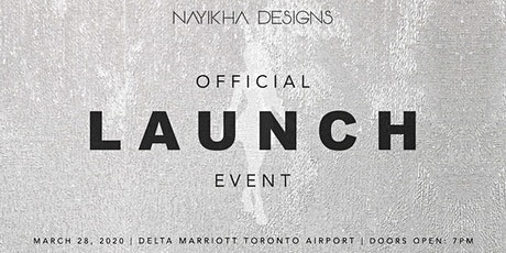 Nayikha Designs Launch tickets