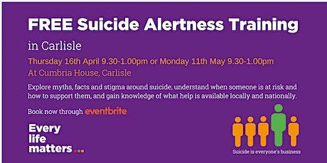 Suicide Alertness Training - Carlisle tickets