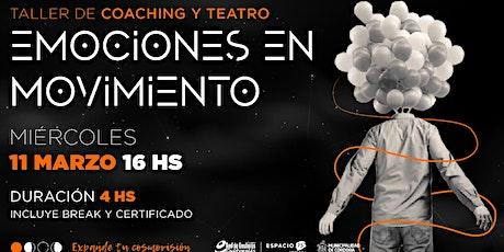 Taller de Coaching y Teatro entradas
