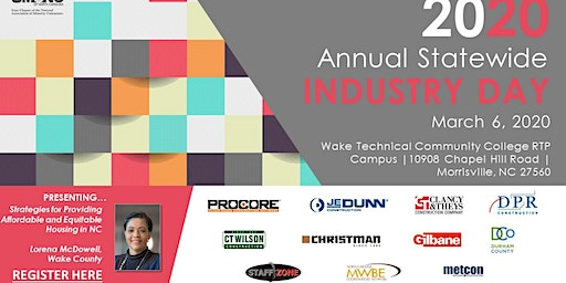 2020 UMCNC Annual Statewide Industry Day & Partners' Breakfast