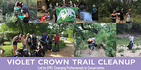 Violet Crown Trail Cleanup - 360 Trailhead tickets