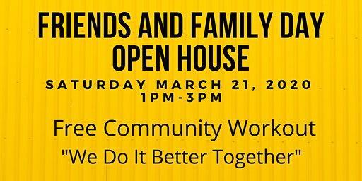Full Time Fitness Friends and Family Day Open House