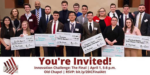 Innovation Challenge: The Final